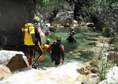 descenso rio verde